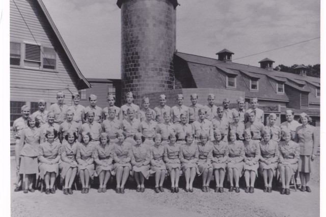 WAC personnel of the 2nd Signal Service Battalion at Vint Hill Farms.