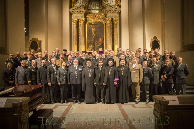 Military religious leaders gathered at the International Military Chief of Chaplains Conference (IMCCC) in Stockholm, Sweden, February 4-8.
