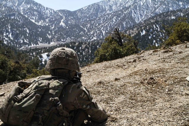 Scouts scale Afghan mountains to disrupt insurgents