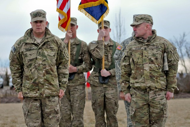 1st Infantry Division headquarters officially returns to Fort Riley