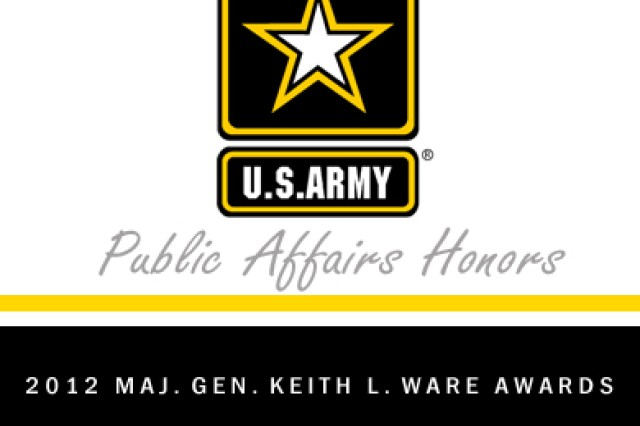 The U.S. Army Corps of Engineers Galveston District Public Affairs Office earned two Maj. Gen. Keith L. Ware Public Affairs Competition, placing first in the community relations individual achievement category and second in the community relations program category of the 2012 Army-wide journalism competition program.