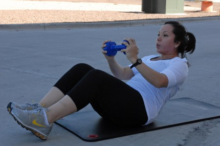 Image result for dumbbell crunches