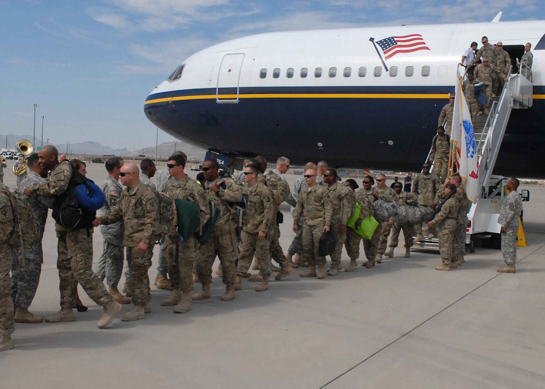 11th ADA 'Fighting Deuce' soldiers return home after OEF