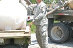 Fort Bragg specialists provide purified water to Vibrant Response troops