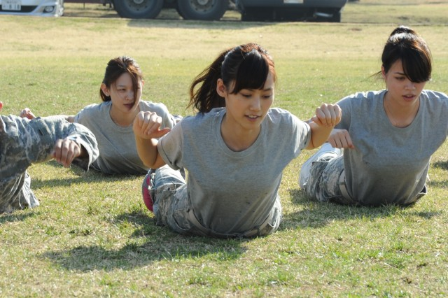 Japanese reality TV contestants experience Army life ...