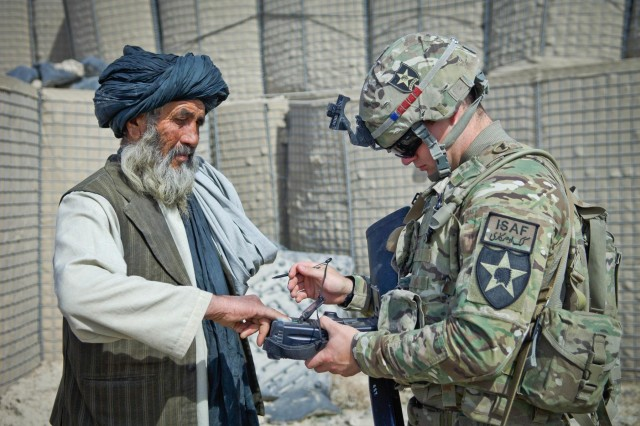 Afghans help locals with medical treatment