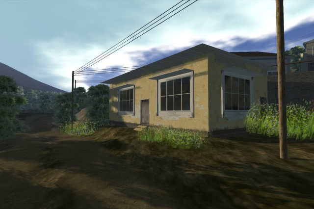 The U.S. Army and Intel Corporation entered into a Cooperative Research and Development Agreement to collaborate and optimize research in virtual training environments. Pictured here is a screenshot from the virtual environment U.S. Army Research Laboratory and Intel are collaborating on.