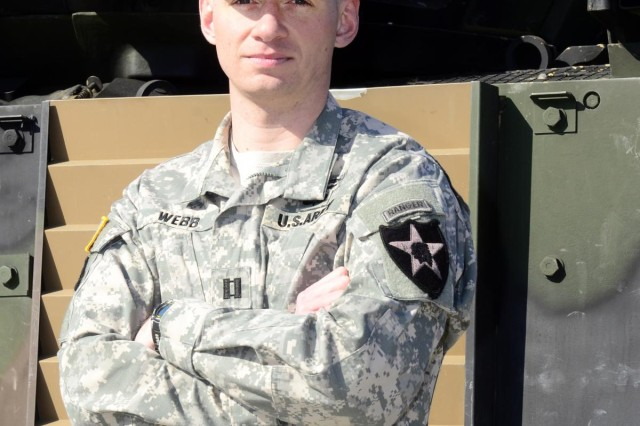 1st ABCT soldier wins the MacArthur Award for Company Grade excellence