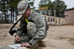 Trooper of the Year candidate competes at land navigation
