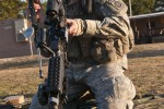 NCO of the Year candidate performs Warrior Tasks