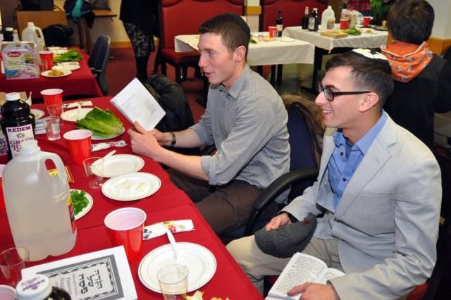 Yongsan hosts Passover, honors Jewish traditions