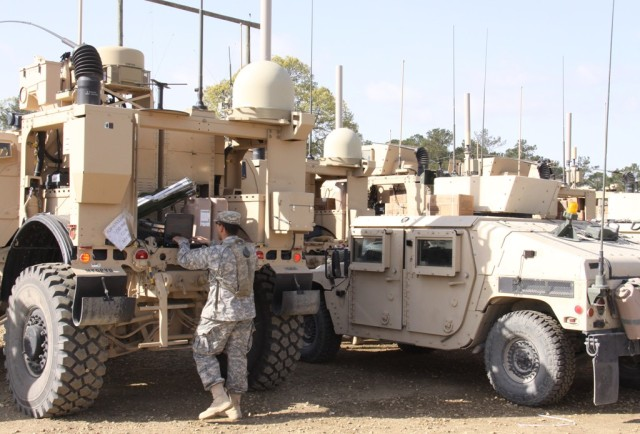 Unit prepares for drawdown mission with 'game-changer' network