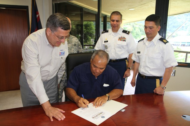 ESGR and Pacific Army Reserve Honors Employers with Patriot Award