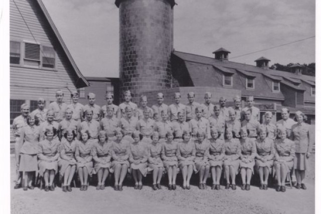 The Women's Army Corps, or WAC, 2nd Signal Service Battalion at Vint Hill Farms.