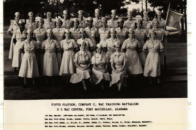 5th Platoon, Company C, WAC Training Battalion, U.S. WAC Center, Fort McClellan, Ala.