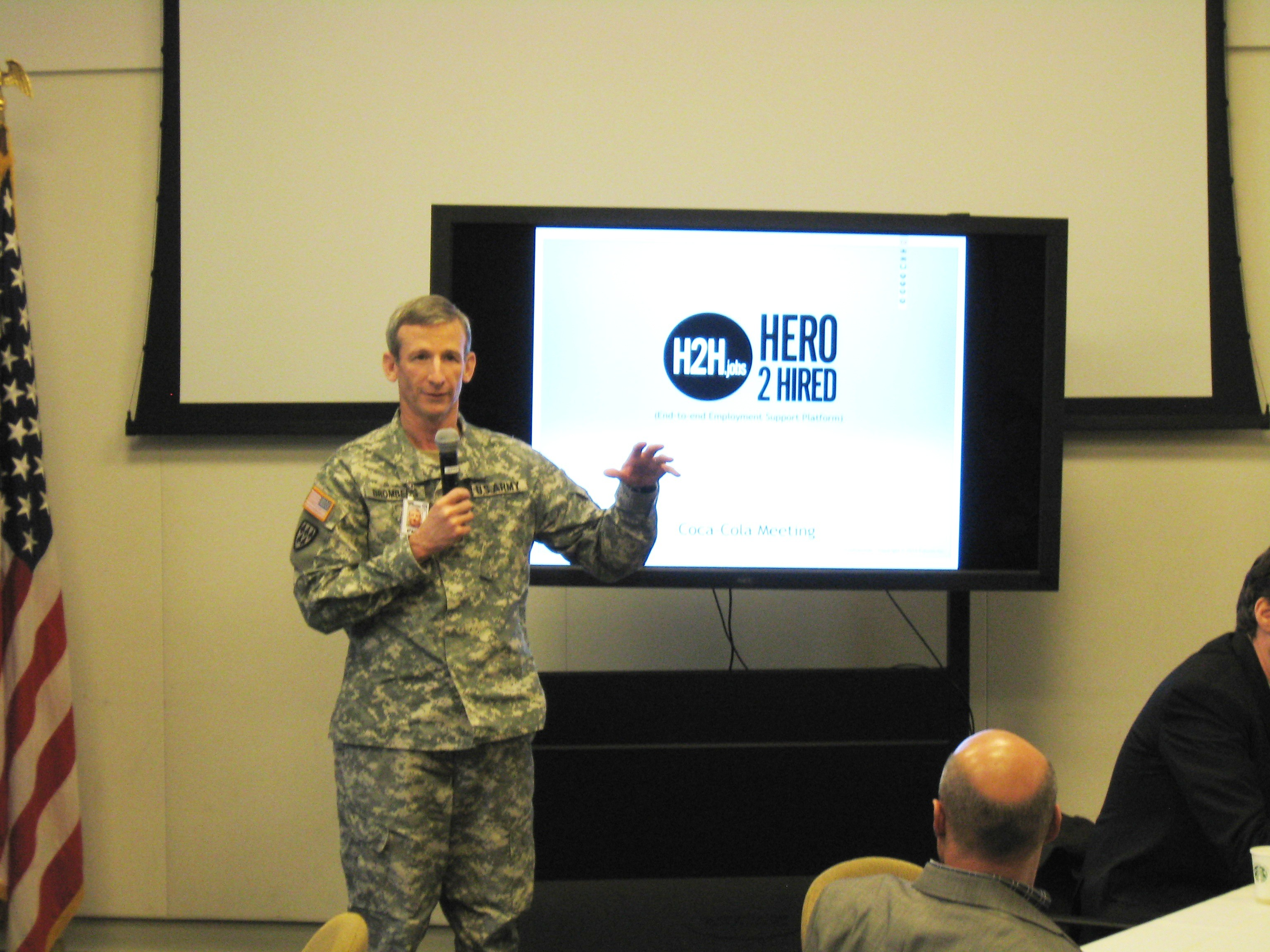 Army TSO Office participates in corporate leadership summit