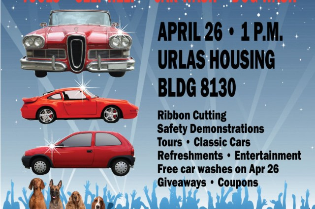 The grand opening of the Automotive Skills location at Bldg. 8130 at Urlas Housing is April 26 at 1 p.m. There will be a ribbon-cutting, safety demonstrations, tours, classic cars, refreshments, entertainment, free car washes, giveaways and coupons. Urlas Automotive Skills will be open Tuesdays through Fridays from 10 a.m. to 8 p.m. and Saturdays and Sundays from 10 a.m. to 6 p.m. The location will be closed Mondays and U.S. holidays. To learn more, call 09802-83-2753 or DSN 467-2753.