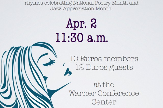 "The Bamberg Spouses and Civilians' Club will host its monthly luncheon at 11:30 a.m. April 2 at the Warner Conference Center. The theme is ""Getting Wiggy With It."" Get our your favorite, fabulous wig and get ready to flow and groove to some smooth jazz and poetic rhymes celebrating National Poetry Month and Jazz Appreciate Month. The cost is 10 euros for BSCC members and 12 euros for guests. RSVP by March 29 to bsccreservations@gmail.com."