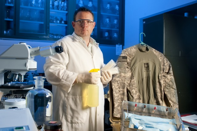 Christopher Doona and other researchers at Natick Soldier Research, Development and Engineering Center were awarded a total of 20 patents in 2012, helping the Army make Thomson Reuters' Top 100 Global Innovators.