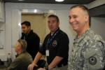 Texas Guardsmen connect during emergency management conference