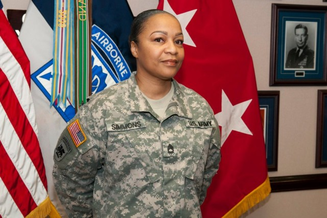 Sgt. 1st Class Josalette Simmons, DA SARC of the Year for 2013