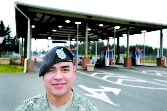 """""""It went by really fast. I was just trying to fall back on what the next step was,"""" said Pvt. Marvin Frisby."""