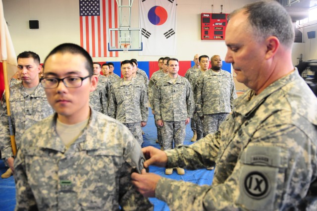 Army Reserves' first-ever KATUSA joins the ranks of the 9th MSC