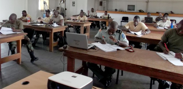 U.S. Army Africa Inspector General Soldiers travel to Liberia