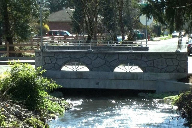 The U.S. Army Corps of Engineers and city of Portland are restoring fish passage in Crystal Springs Creek in Portland, Ore. The Corps is installing wider, natural bottom culverts, a key element of recovery of endangered species.