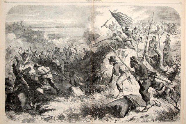 Harper's Weekly, March 14, 1863.