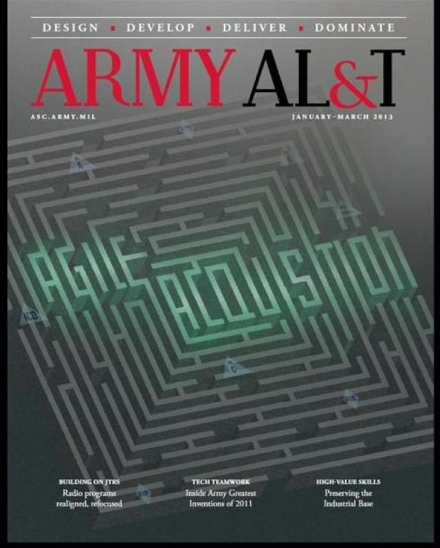 Army ALT Magazine Cover Jan-Mar 2013