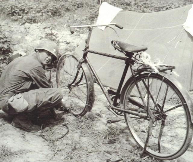Kapaun and his bike