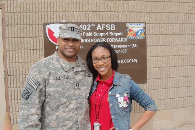 Research center co-workers reunite while deployed