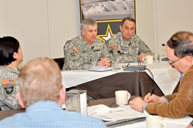 Media roundtable: USAREUR leaders address transformation, training, partnership issues