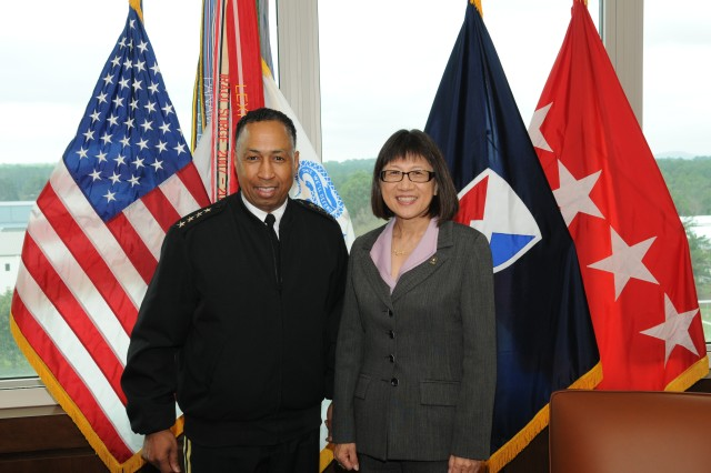 Gen. Via and the Honorable Heidi Shyu