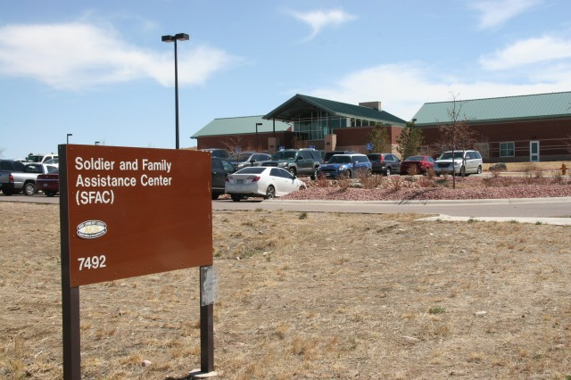 FORT CARSON, Colo. -- The Soldier and Family Assistance Center provides assistance to wounded warriors separating from the military or returning to duty and those who falls under the Individual Disability Evaluation System.