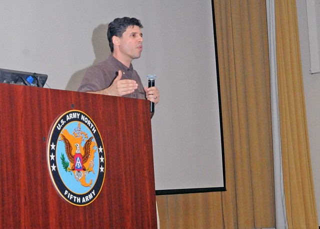 Max Brooks speaks about preparedness