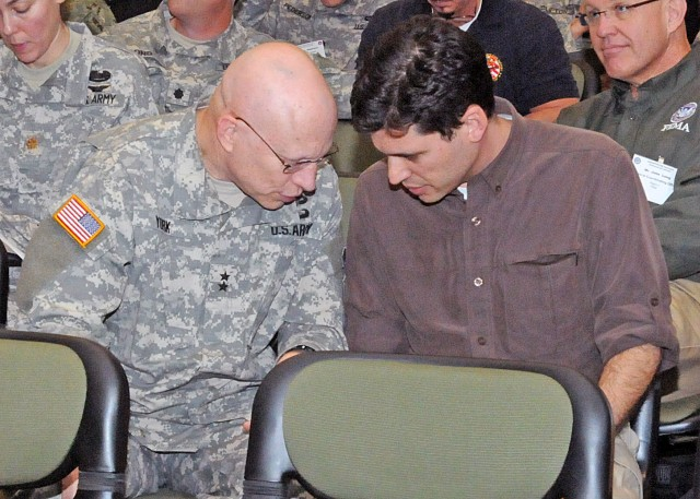 Max Brooks, Maj. Gen. Daniel York discuss preparedness
