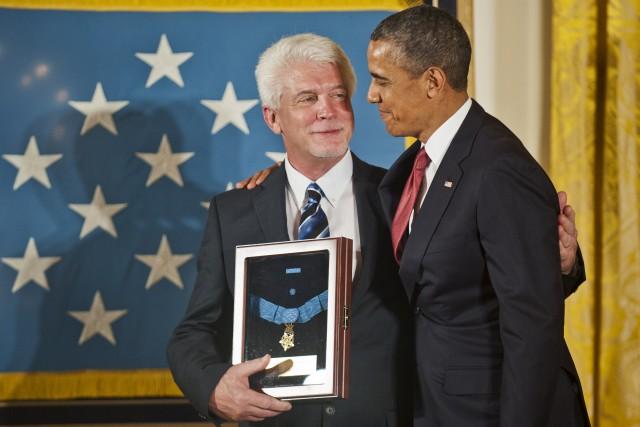 Honoring an uncle, Korean War hero