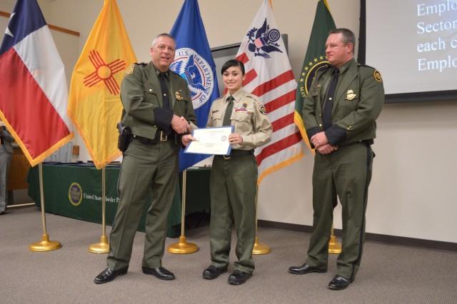 Border Patrol Explorer recognized nationally for leadership