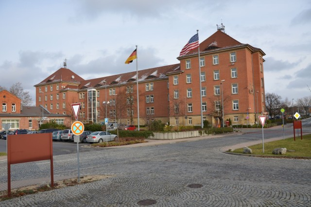 U.S. Army Garrison Bamberg's Warner Barracks is among a group of Army installations within the Franconia Military Community scheduled to close by the end of September 2014. Along with the USAG Schweinfurt footprint, the closure area is approximately the size of Fairfax, Va.
