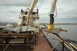 Going Green: District powers debris-removal vessel with biofuel