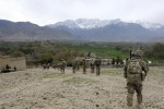 Bulldogs assist ANSF to secure Wazir Valley