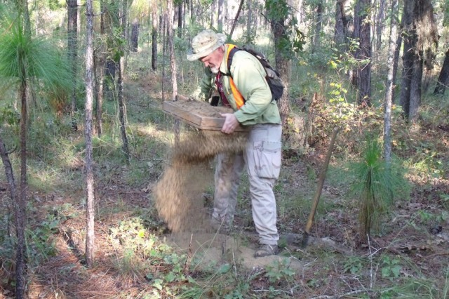Phase I Archeological Inventory in support of training & timber thinning requirements.   Approximately 85% of Fort Stewart and 100% of HAAF has been inventoried for archaeological resources.  Thus far, over 4,000 archaeological sites have been recorded on the Installation.