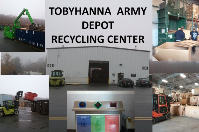 TYAD has achieved a recycling rate of over 60% for the past two years, far ahead of the DoD goal of a 50% diversion rate by 2015.