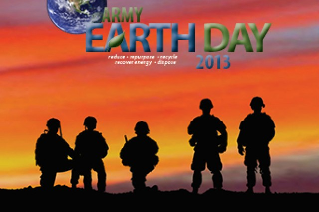 This year's Army Earth Day Poster reiterates the importance of acknowledging the past, engaging the present and charting the future, from an environmental standpoint.
