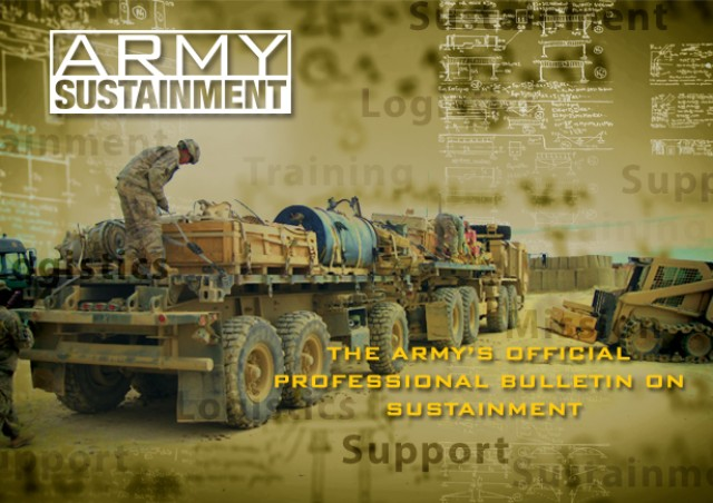 Army Sustainment May-June 2013