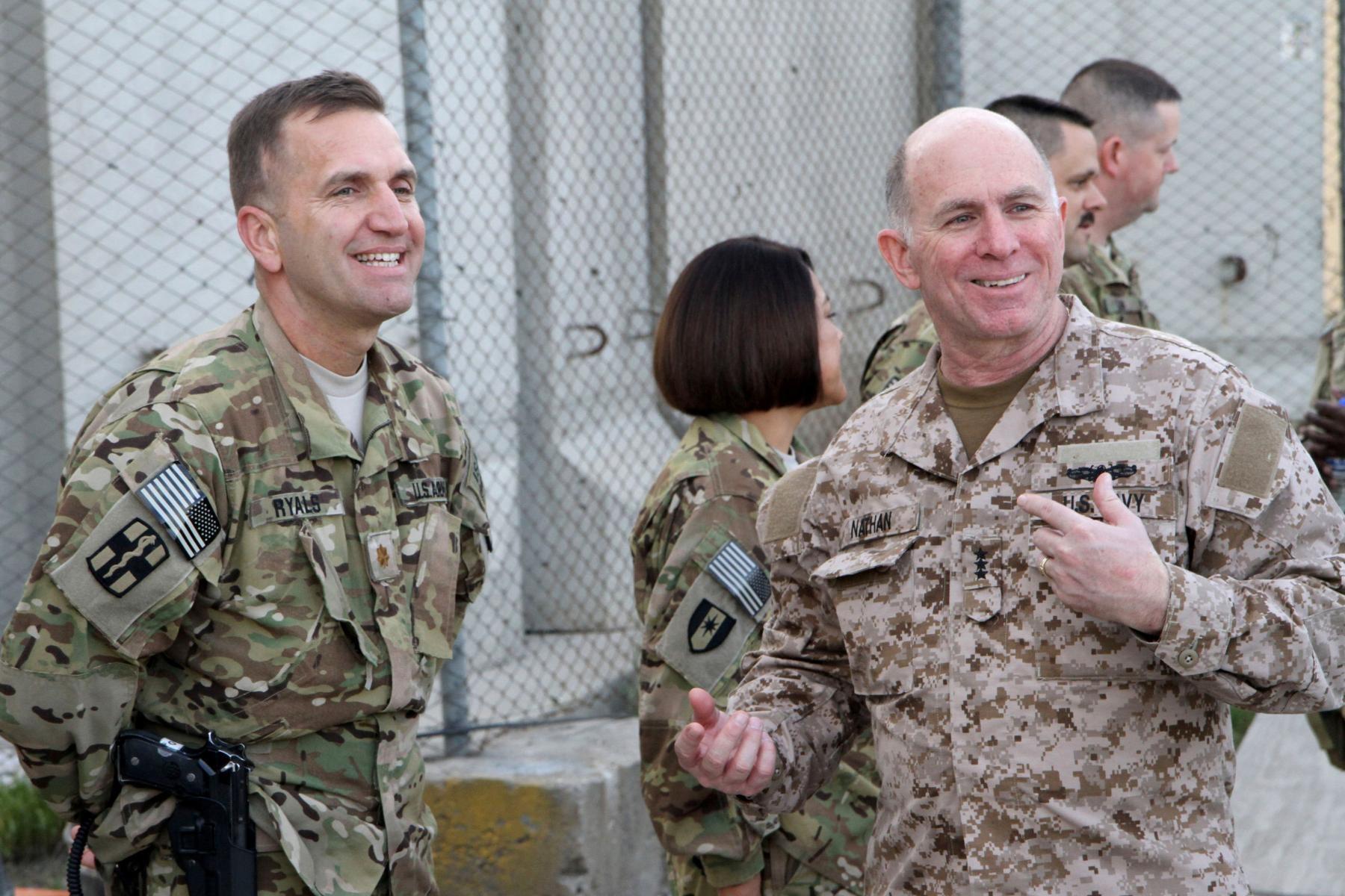 Surgeons General Visit Bagram Air Field Article The