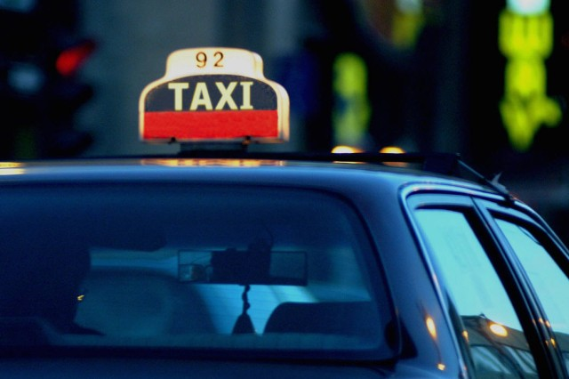 Taking a taxi home after a night of drinking is a great way to get home and stay safe.