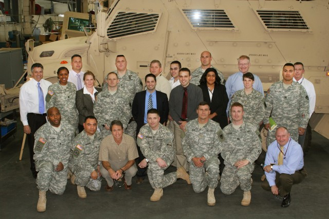 Field Assistance in Science and Technology personnel attend orientation and reach-back training at RDECOM's Tank Automotive Research, Development and Engineering Center at Detroit Arsenal, Mich., in September 2010.